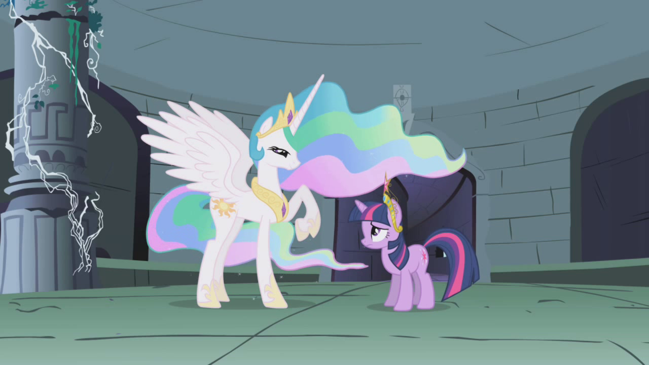 Img AltCelestia Talking To Twilight In The Ruins S1E2 Src Static3wikianocookie Cb20121008080126 Mlp Images Thumb 2 2c