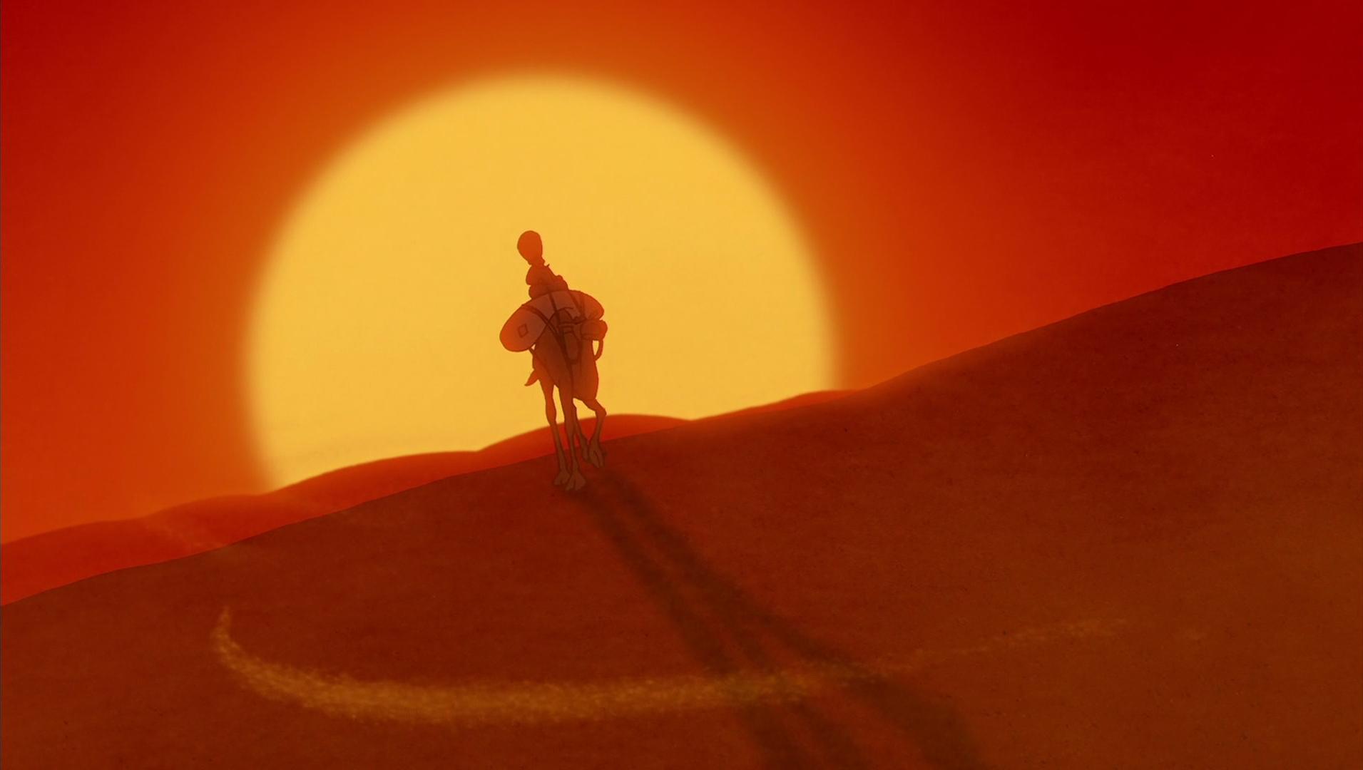 Lyrics of the desert song