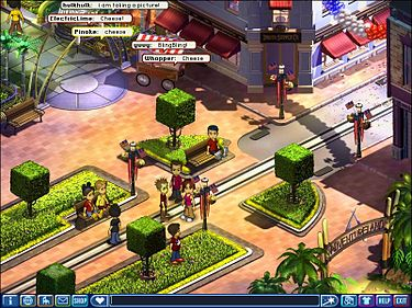 Online virtual share trading games