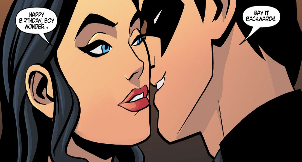 Young Justice Season 3 Nightwing - Nightwing and Zatann...