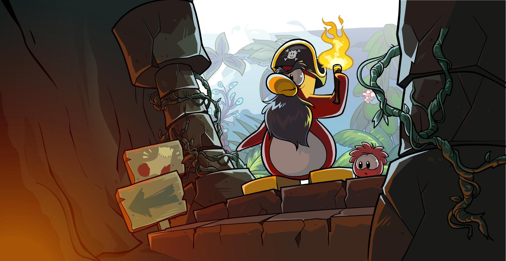 Club Penguin Room Id For Rockhopper Island