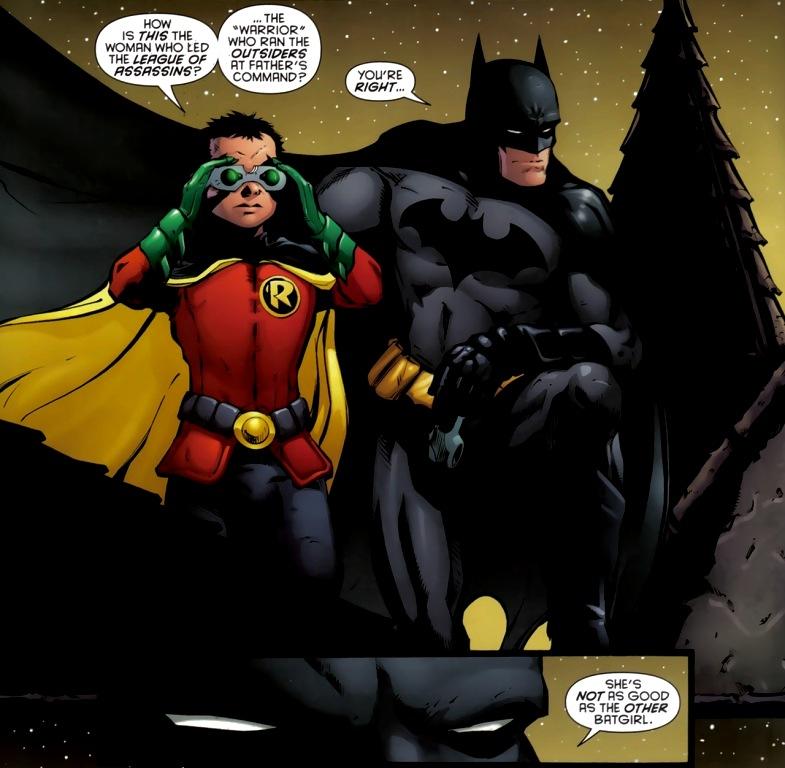 Think, that dick grayson new batman fantasy)))) opinion