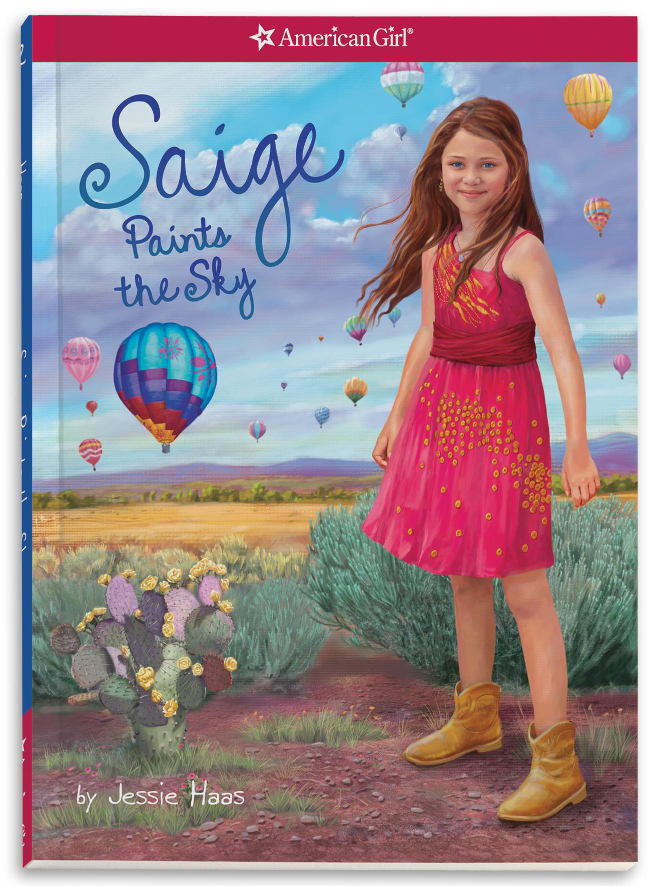 Saige Paints The Sky Book