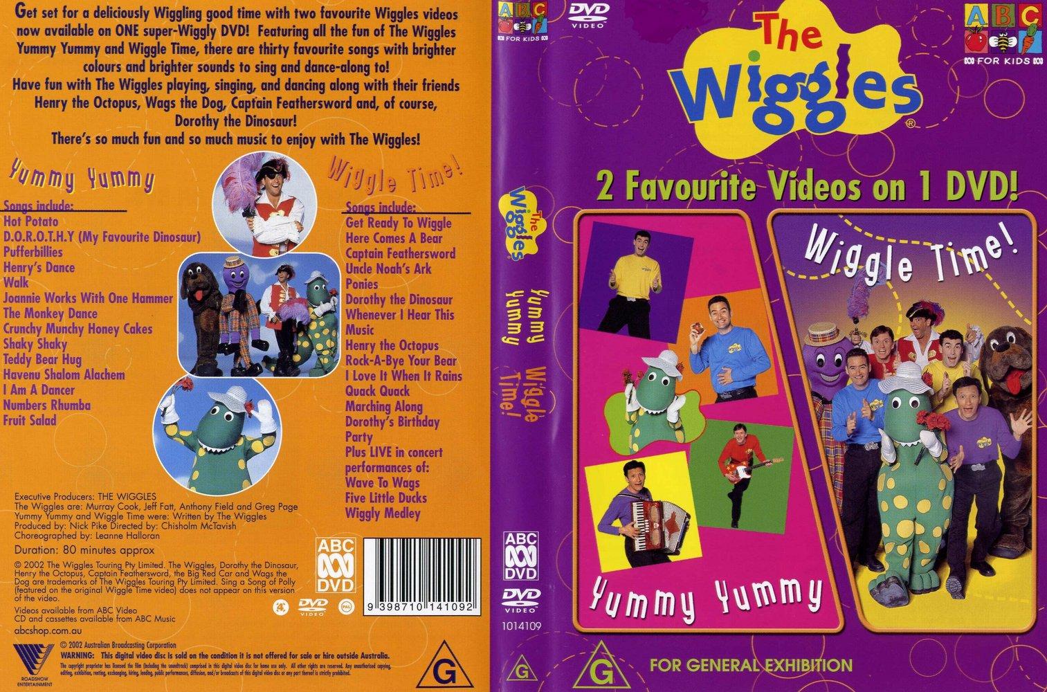 Yummy Yummy + Wiggle Time DVD