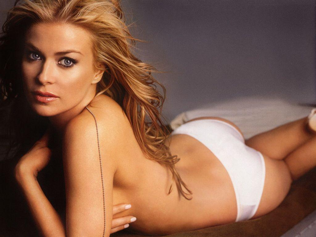carmen electra in white panties