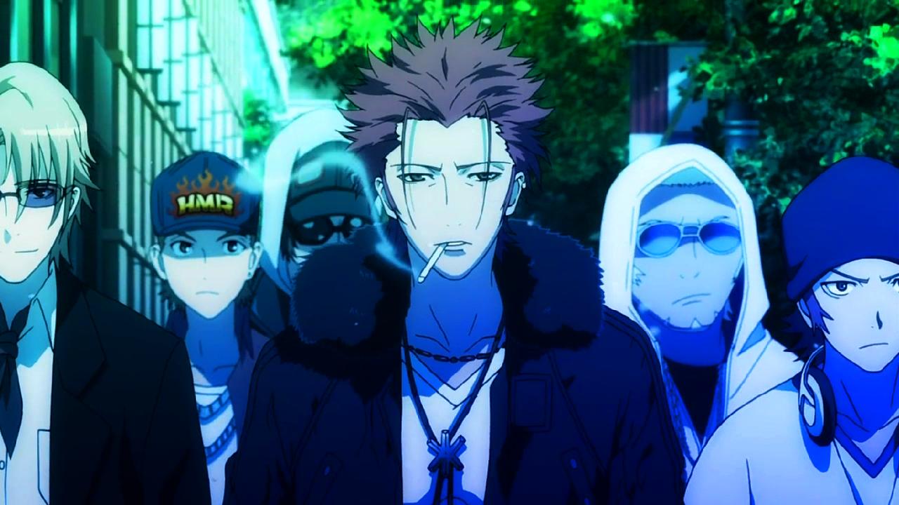 K Anime Characters Anna : Dragones de hielo y fuego reseña anime k