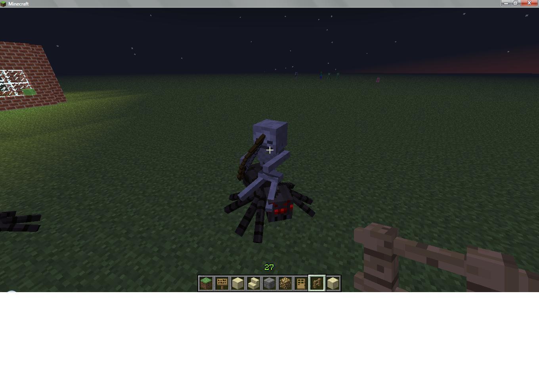 Image - Spider Jockey - Minecraft.jpg - Minecraft Wiki