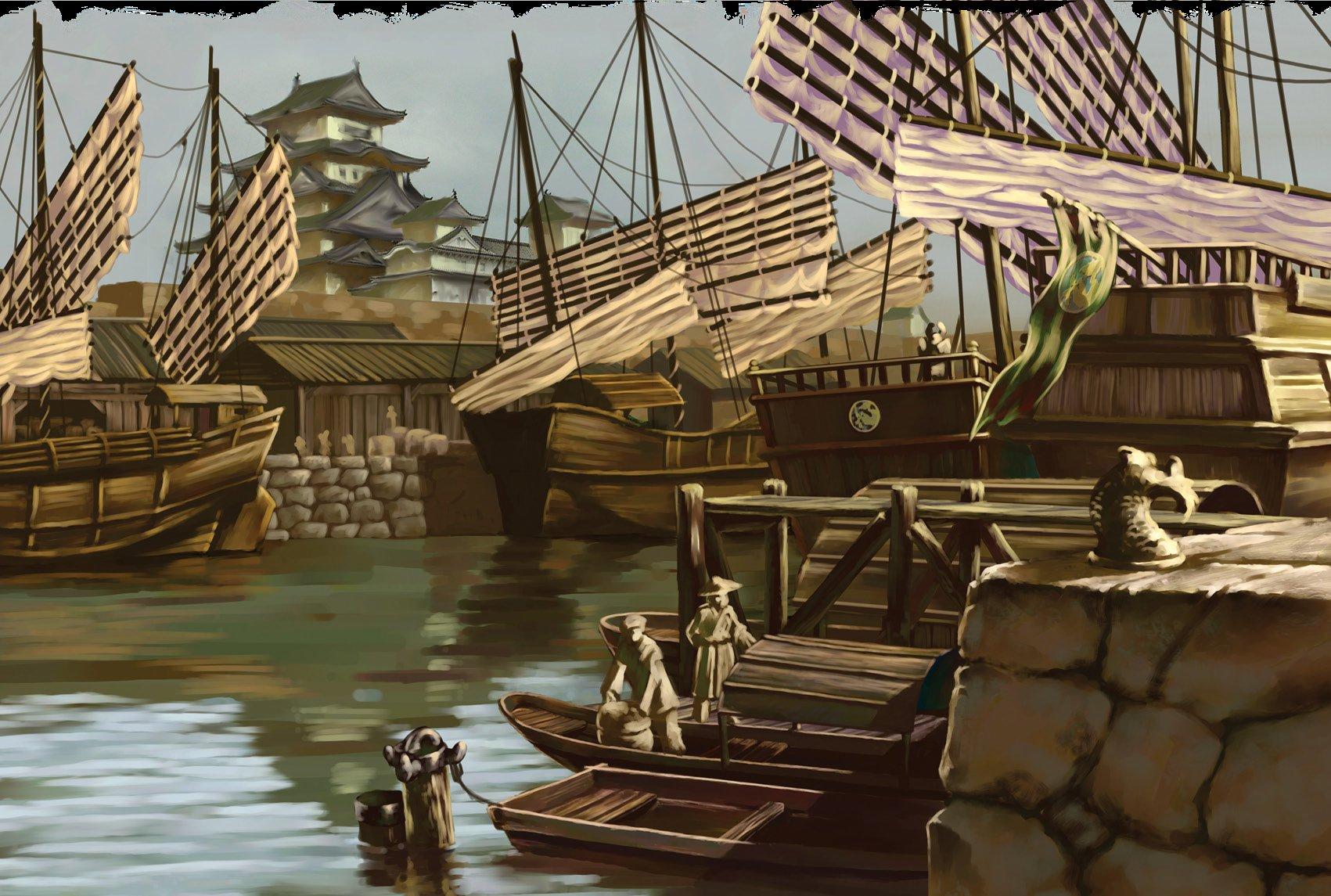 la espada de Yasurugi Eastern_Hub_Port
