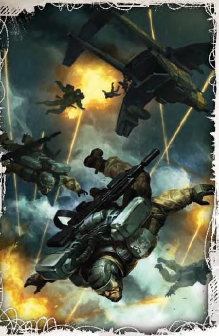 101st Harakoni Warhawk Regiment Icarus Company