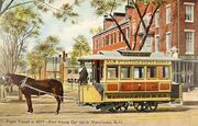 First Horsecar in Manchester, NH