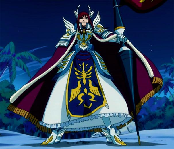 Farewell Fairy ... Erza Scarlet Armor Types