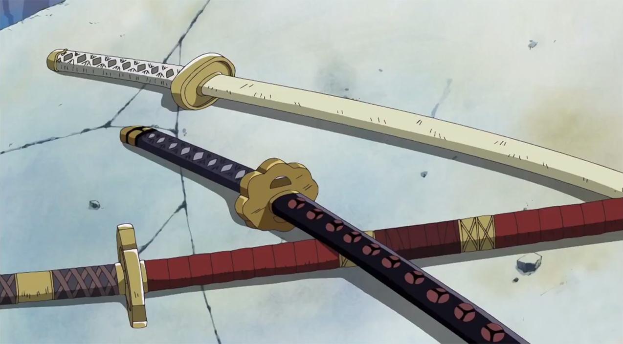Akihiko's weapons Zkatana