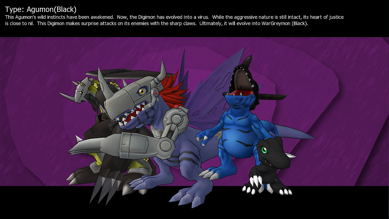 blackagumon digimon masters online wiki take a step