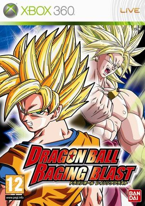 Dragon Ball Raging Blast -XBOX 360-