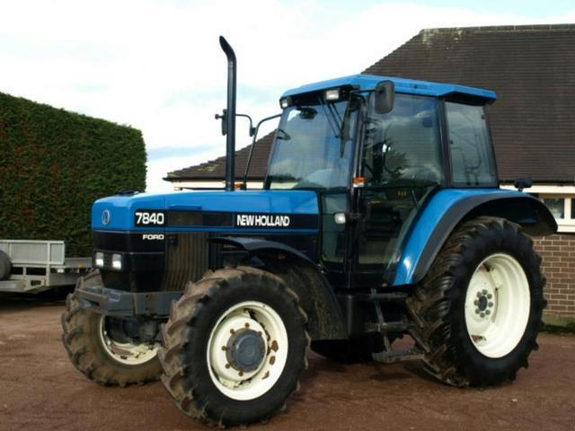 Ford New Holland 7840