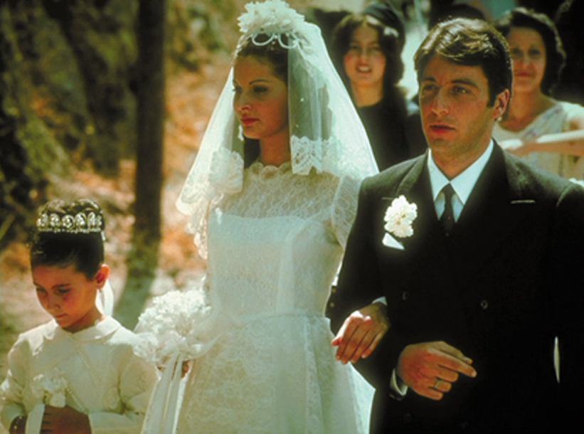 an analysis of michael corleones wedding in the godfather by mario puzo The godfather year: 1972 writer(s): mario puzo & francis ford coppola (screenplay) lead actors: al is during connie's wedding, michael tells kate the anecdote about his father and johnny -the arc of michael corleone and what becomes the rise in power of the new don of the.