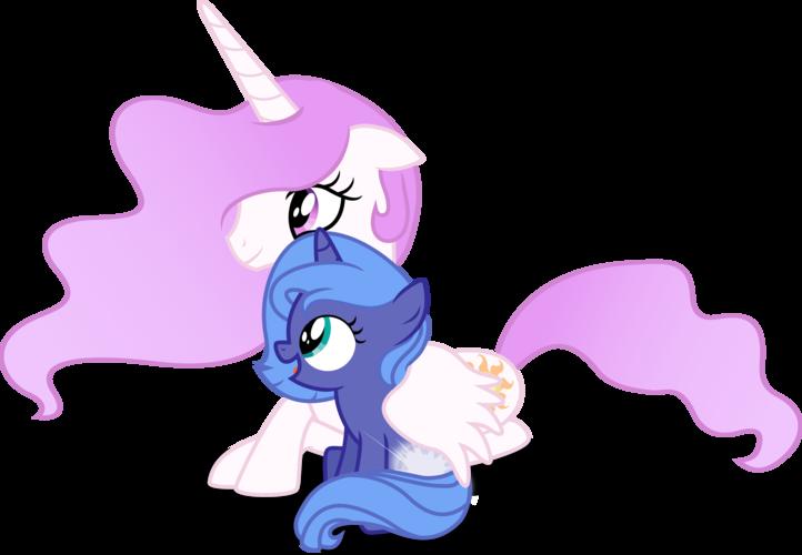 My little pony filly luna - photo#22