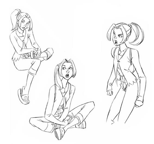 Kitty Pryde Coloring Pages