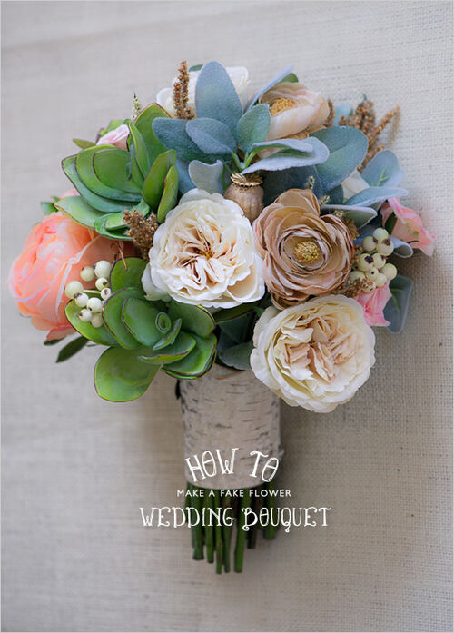 How To Make Your Own Fake Bouquet