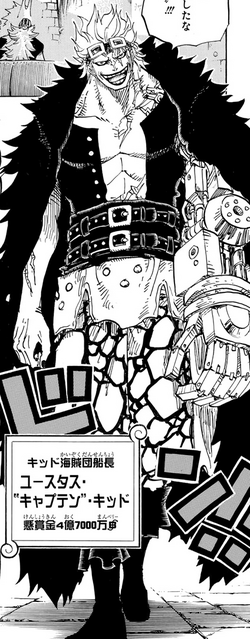 Eustass Kid Manga Post Timeskip Infobox