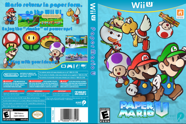 Mario Wii U Games : Paper mario wii u fantendo the video game fanon wiki