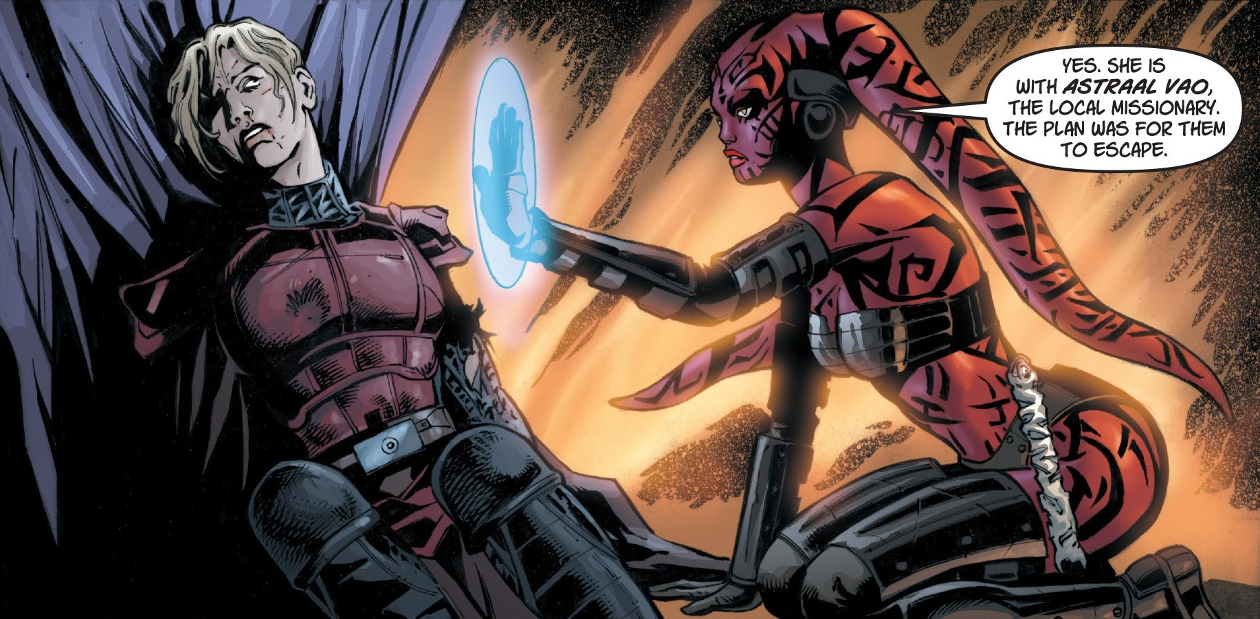 cade skywalker and darth talon relationship test