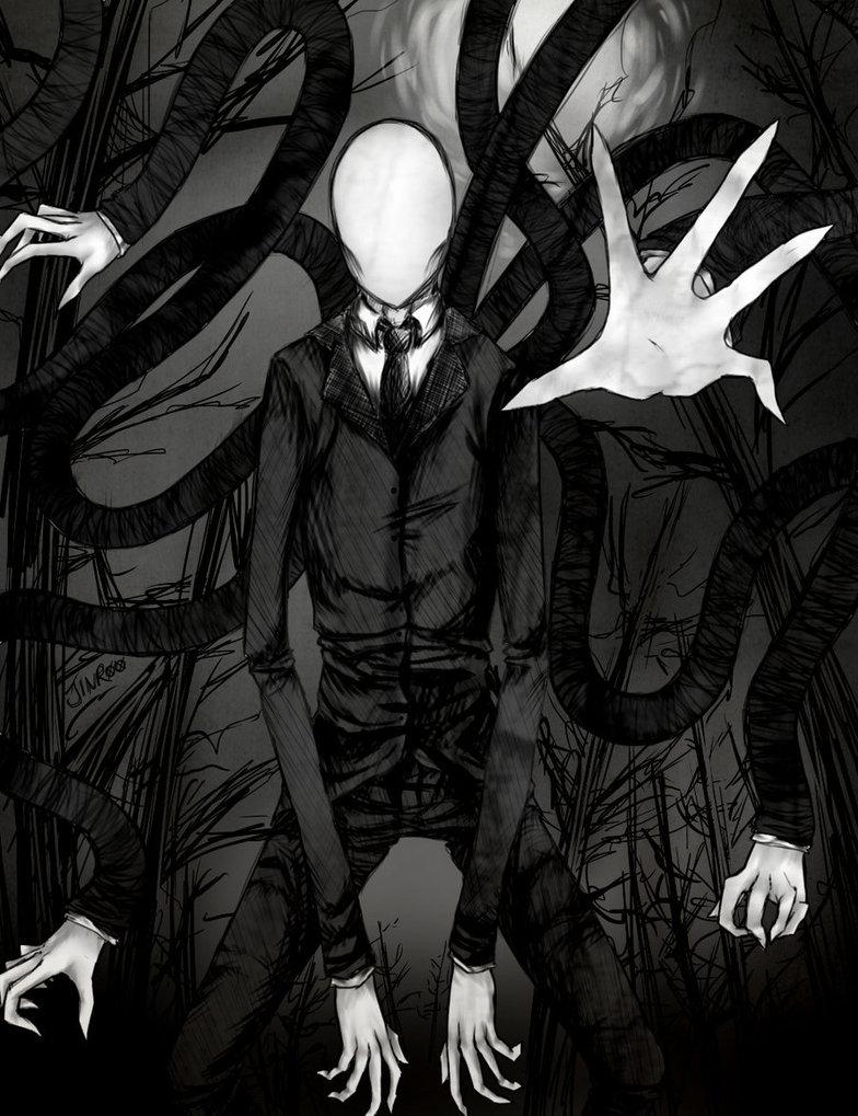 The Demon Butler Slender_Man