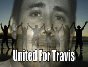 support for travis alexander and his family friends and supporters is