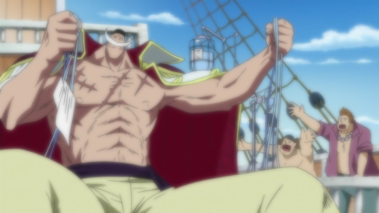 Whitebeard Refusing Medical Treatment