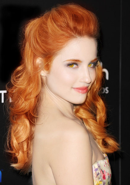 Displaying (17) Gallery Images For Dianna Agron Red Hair...