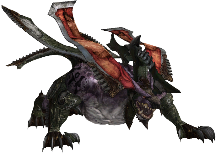 Tuer un behemoth avec seulement un chewing-gum et un cheveu rose BehemothFFXIII