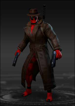 Deadpool Detective Costume