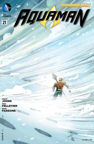 Cover for Aquaman #21 (2013)