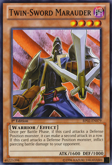 Twin Sword Marauder Yu Gi Oh