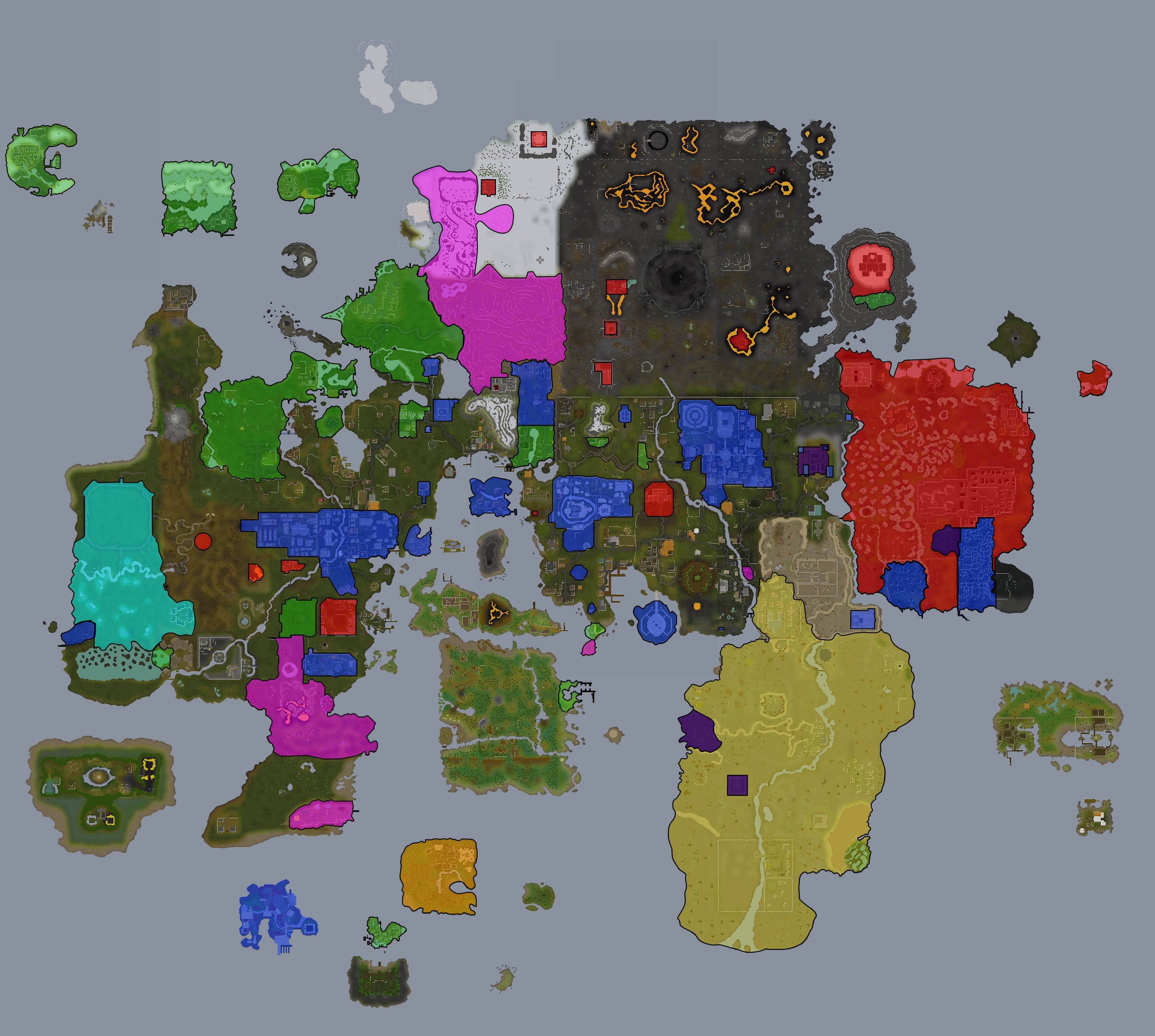 Interesting version of runescape map runescape interesting version of runescape map gumiabroncs Gallery