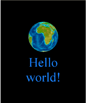 hola to the world: