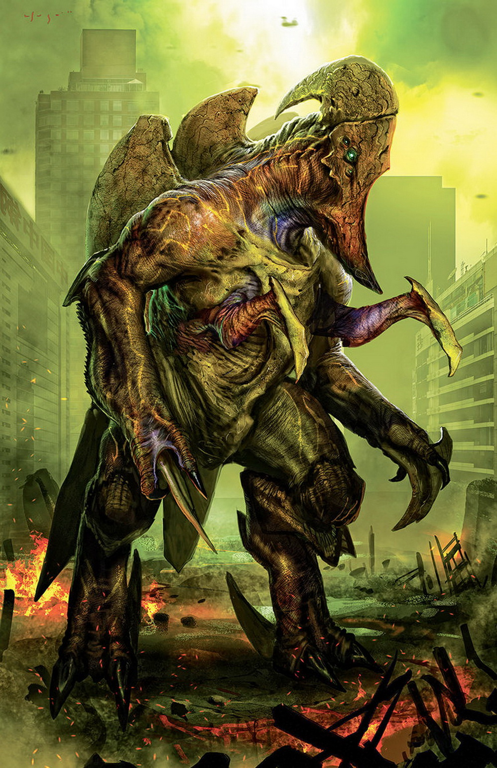 Mutavore - Pacific Rim Wiki Pacific Rim Kaiju Category 3
