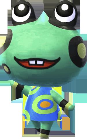 Frog (Villager) - Animal Crossing Wiki