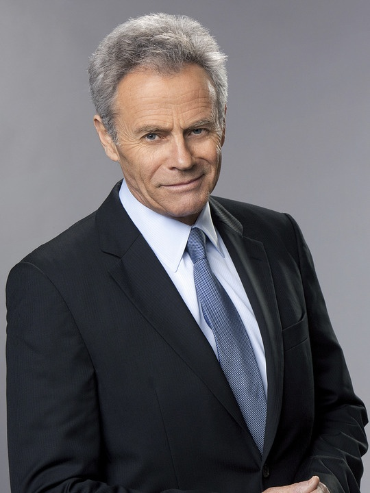 tristan rogers as colin atkinson the young and the restless portrayed ...