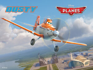 Disneys-Planes Wallpaper Dusty Standard