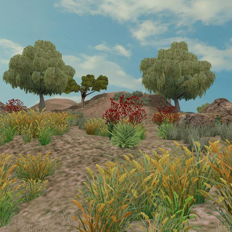 Preview semidesertZoo Tycoon 2 Radical Remake Biomes