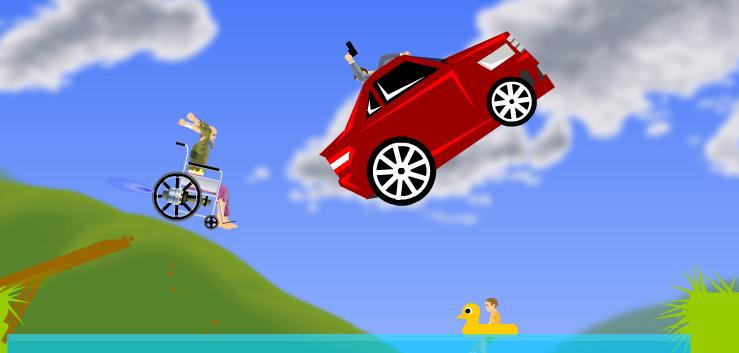 car games happy wheels