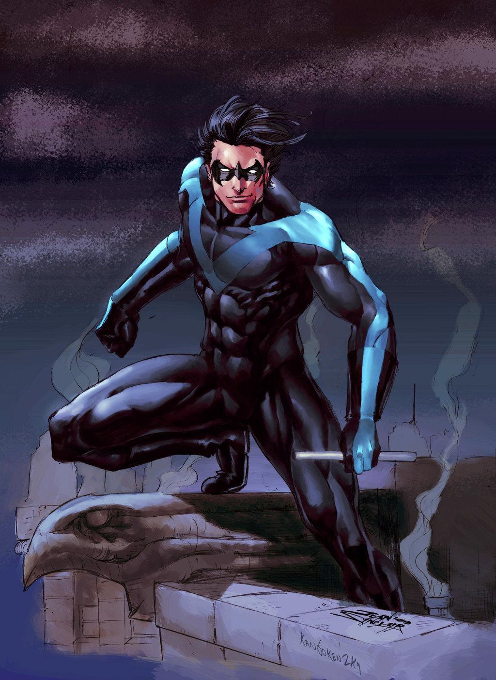 Richard Grayson (New Earth) - Nightwing Wiki