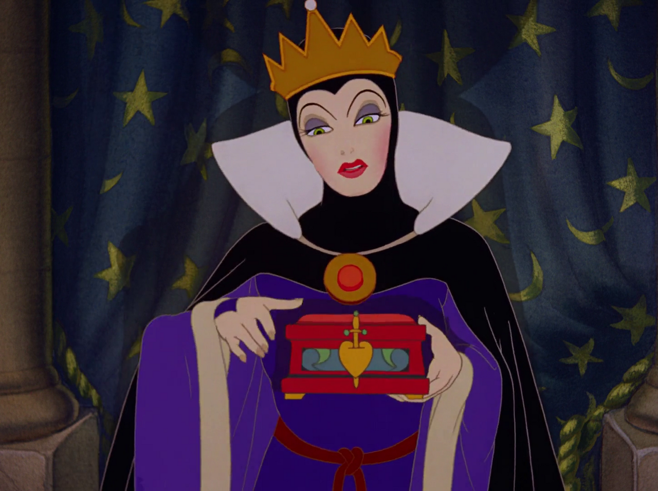 Image - Evil Queen (Snow White and the Seven Dwarfs 1937 ... Disney Evil Queen Snow White