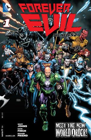 Cover for Forever Evil #1 (2013)