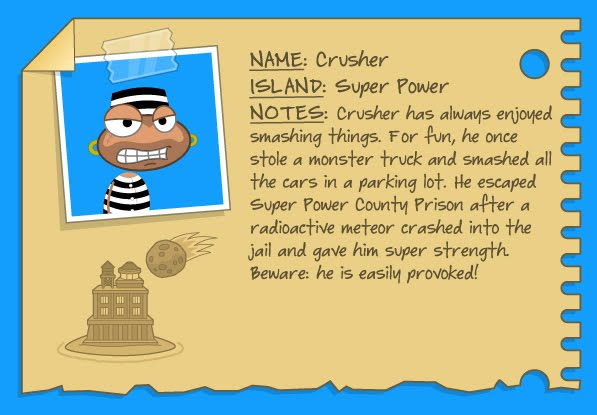 Poptropica Cheats For Super Power Island Crusher