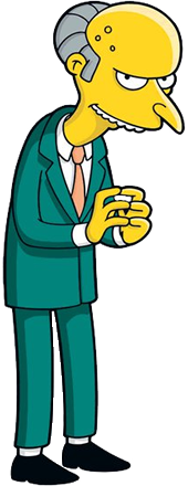 Mr  BurnsSimpsons Characters Mr Burns