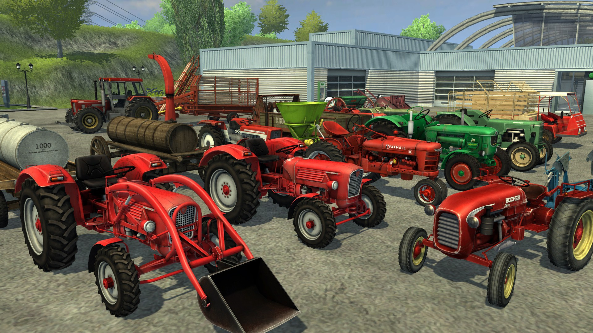 farming classics is the first free dlc pack for farming simulator 2013