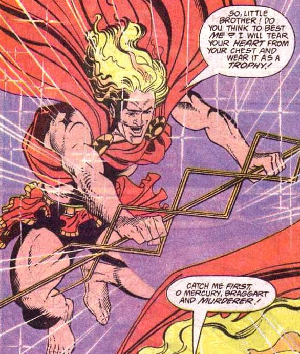 Mercury (Roman God) (New Earth) - DC Comics Database