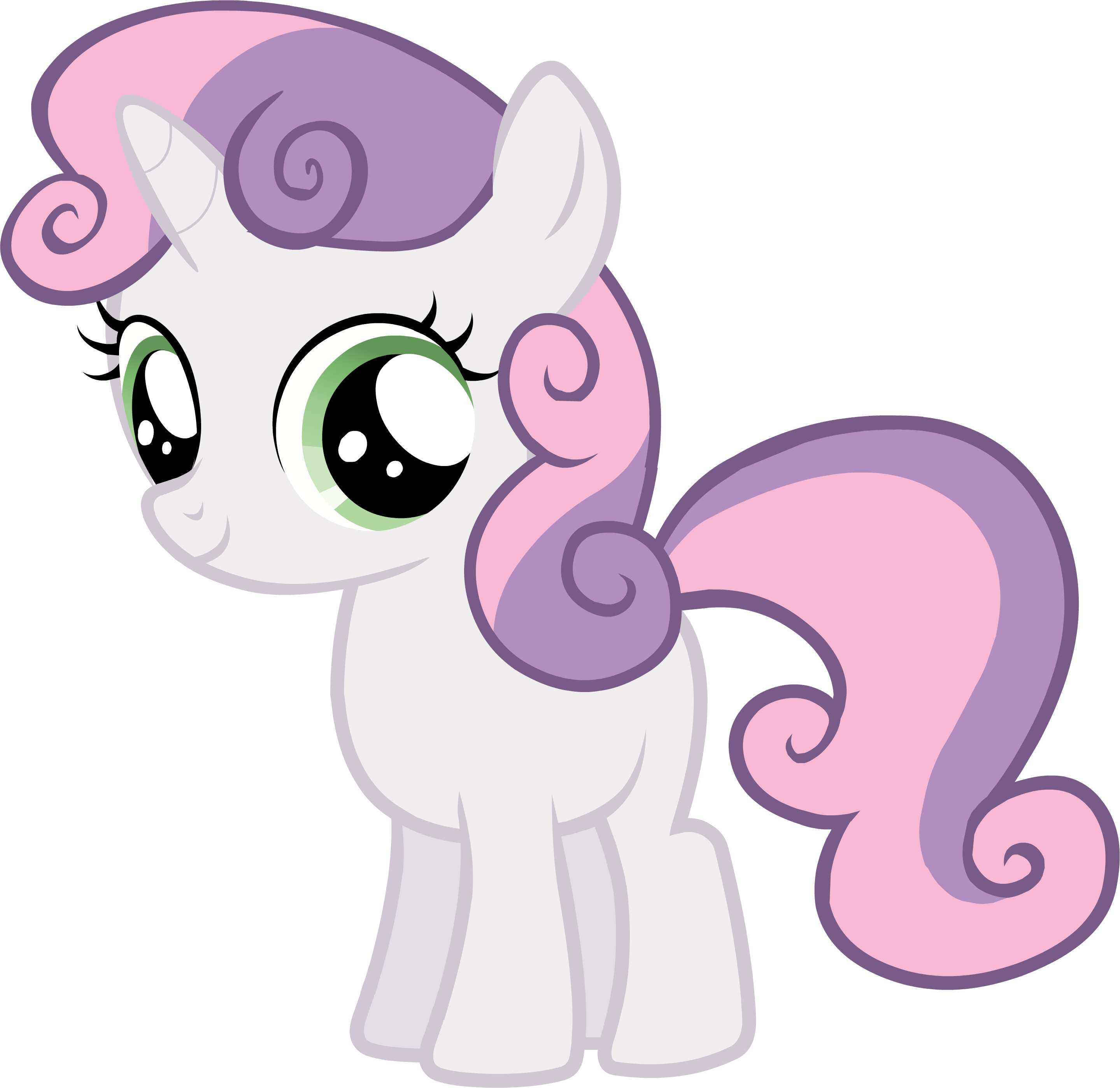 My little pony rarity and sweetie belle - photo#48